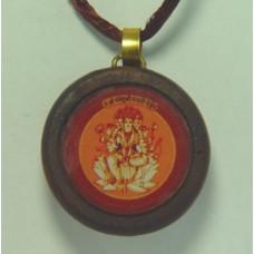 Гаятри Янтра (амулет в деревянной рамке)