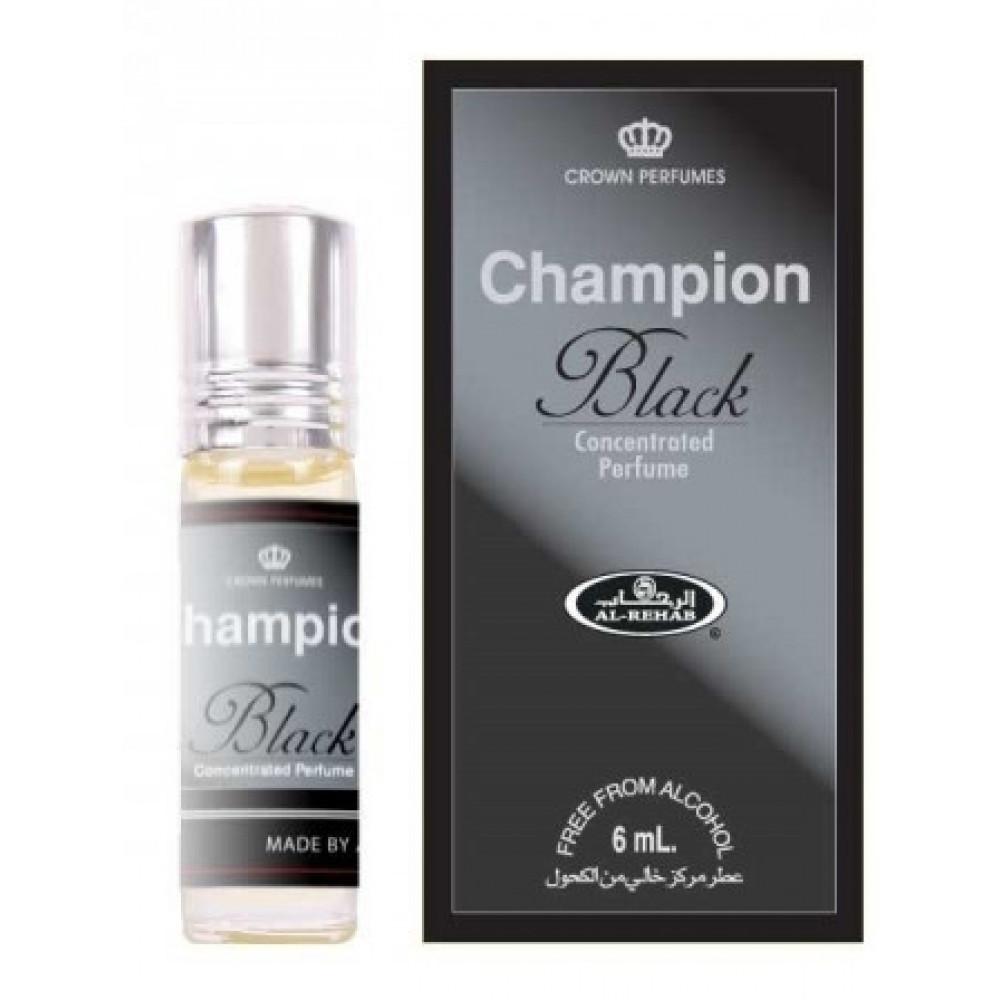 Арабские духи CHAMPION BLACK/ ЧЕМПИОН БЛЭК