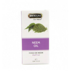 Масло Ним, Neem oil, HEMANI (30 мл)