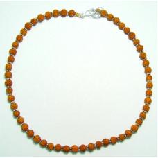 Ожерелье (рудракша 54 бусин,⌀ 6 мм)