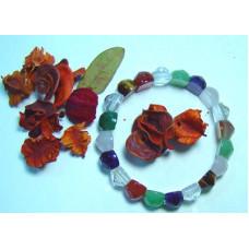Браслет Навратна (с граненными драгоценными камнями) *СКИДКА*  (старая цена 2600 рублей)