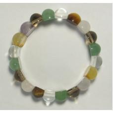 Навратна браслет с гладкими камнями (дизайн 2)