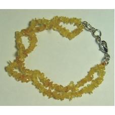 Желтый топаз, браслет