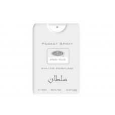 White Musk Pocket Spray 18ml