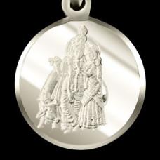 Лагна йог янтра (серебристая, ᴓ 24 мм)