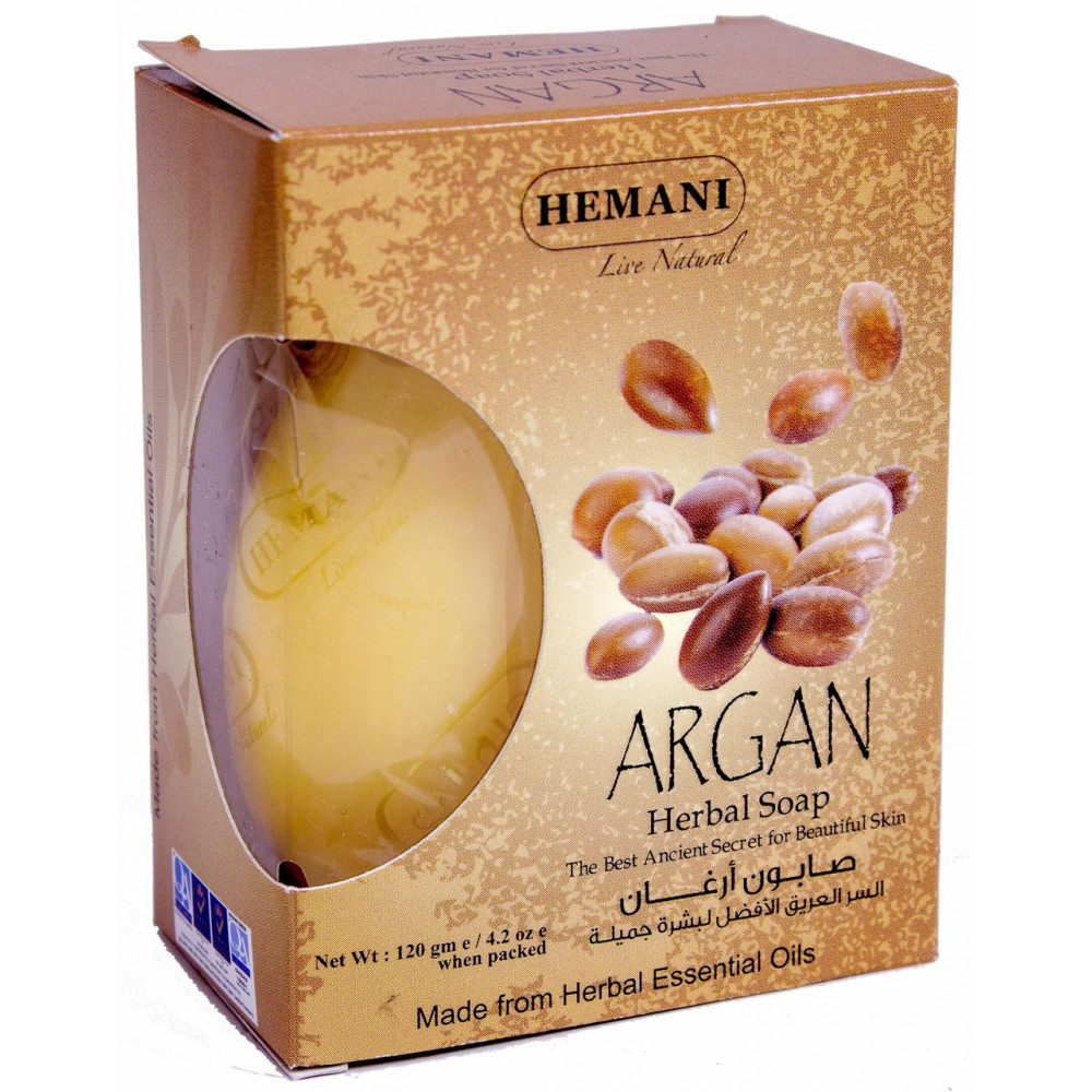 Argan / Арган, травяное мыло Hemani (120 гр)